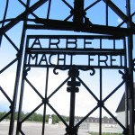 Gate of Dachau concentration camp