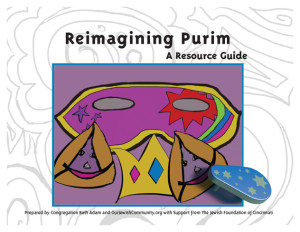 Purim resource guide cover
