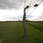 barbed wire fence Auschwitz Concentration Camp